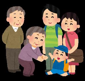 家族コミュニケーションのイメージ