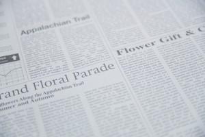 新聞の写真