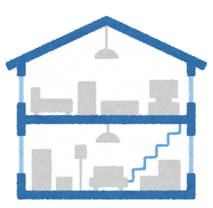 家の断面図