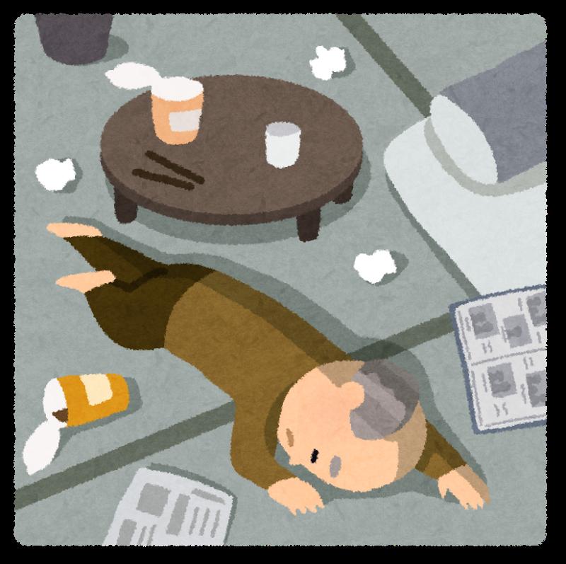 高齢者の孤独死