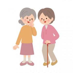 高齢者立ち話